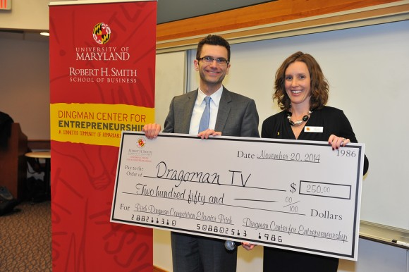 Elevator Pitch Winner, Dragoman TV