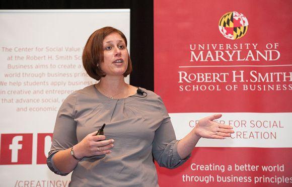 Shira Shafir, director of Social Innovation and Impact at TOMS Shoes